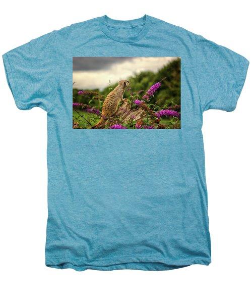 Meerkat Lookout Men's Premium T-Shirt