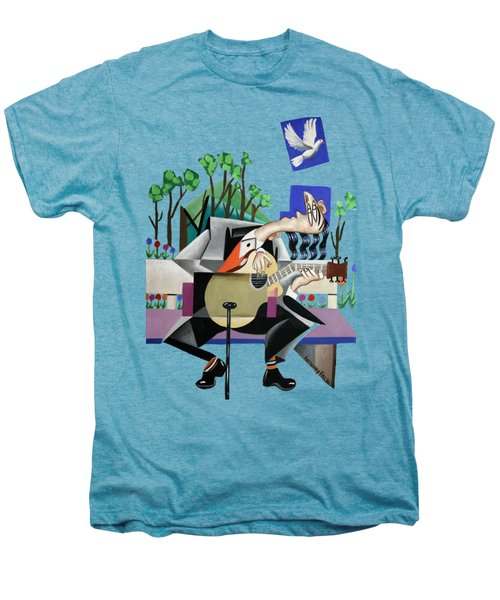 Music A Gift From The Holy Spirit Men's Premium T-Shirt by Anthony Falbo