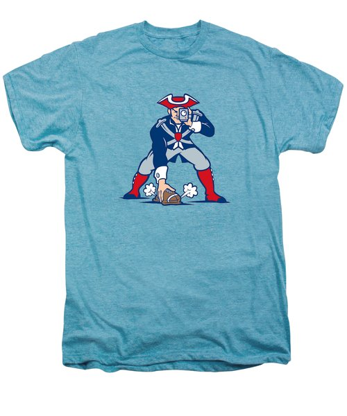 New England Patriots Parody Men's Premium T-Shirt by Joe Hamilton