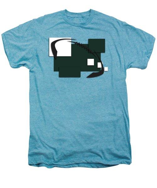 New York Jets Abstract Shirt Men's Premium T-Shirt by Joe Hamilton