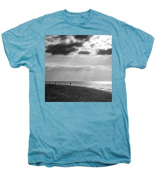 Old Hunstanton Beach, Norfolk Men's Premium T-Shirt