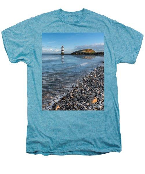 Penmon Point Lighthouse Men's Premium T-Shirt