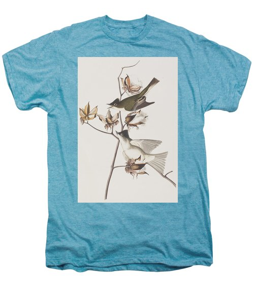 Pewit Flycatcher Men's Premium T-Shirt by John James Audubon