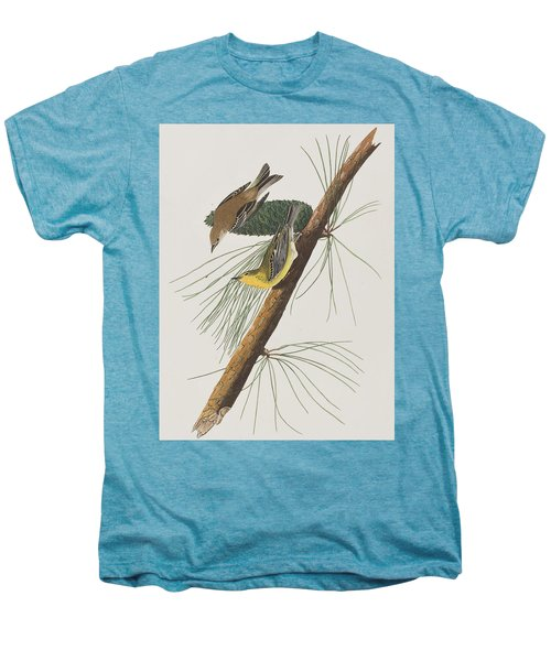 Pine Creeping Warbler Men's Premium T-Shirt