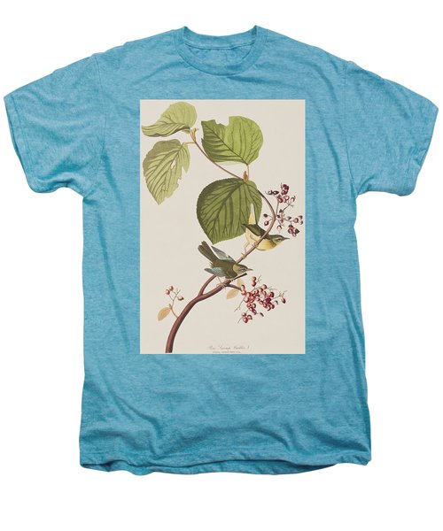 Pine Swamp Warbler Men's Premium T-Shirt by John James Audubon