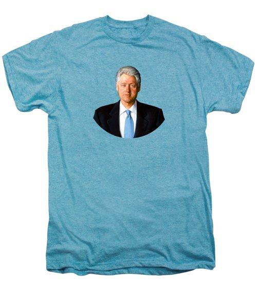 President Bill Clinton Men's Premium T-Shirt