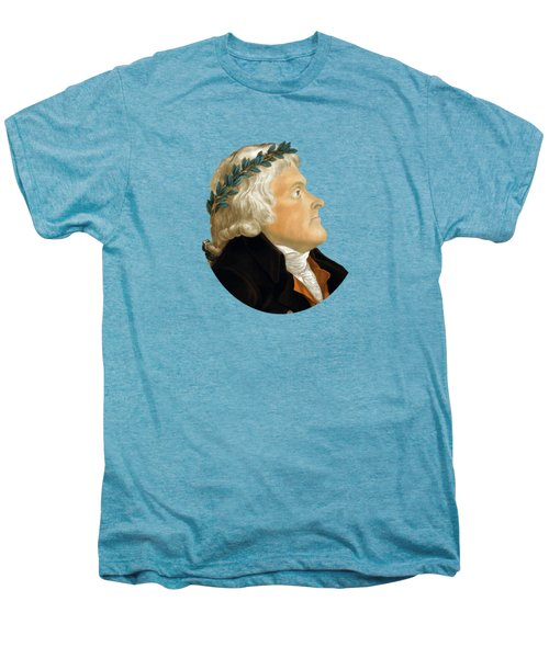 President Thomas Jefferson Men's Premium T-Shirt