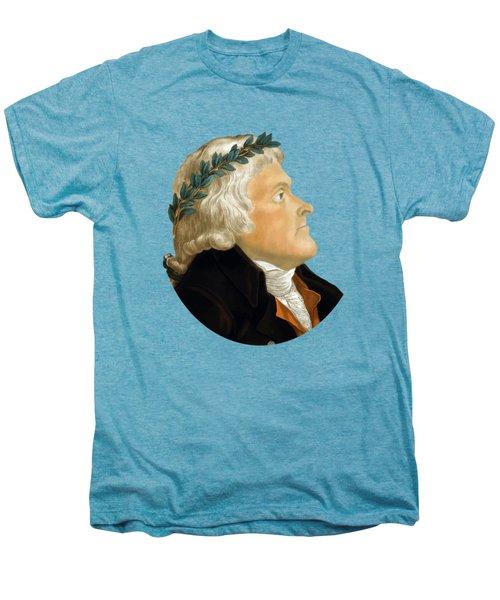 President Thomas Jefferson - Two Men's Premium T-Shirt