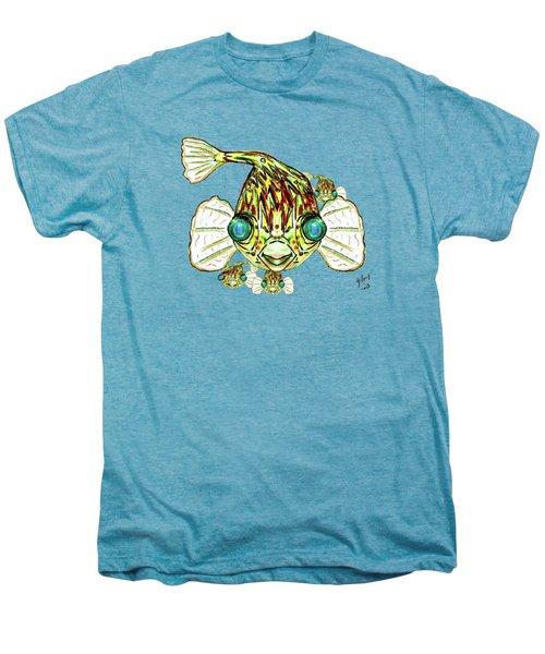 Puffer Fish Men's Premium T-Shirt by W Gilroy