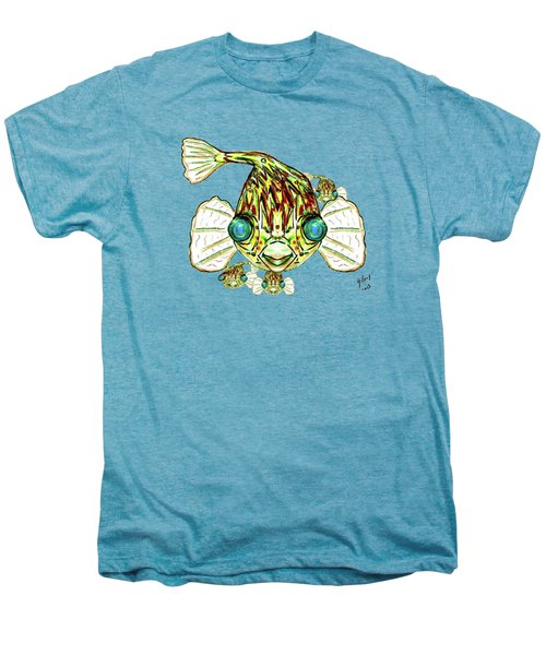 Puffer Fish Men's Premium T-Shirt