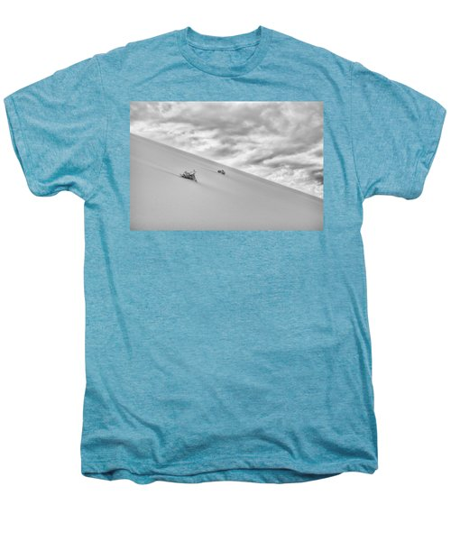 Men's Premium T-Shirt featuring the photograph Sand And Clouds by Hitendra SINKAR