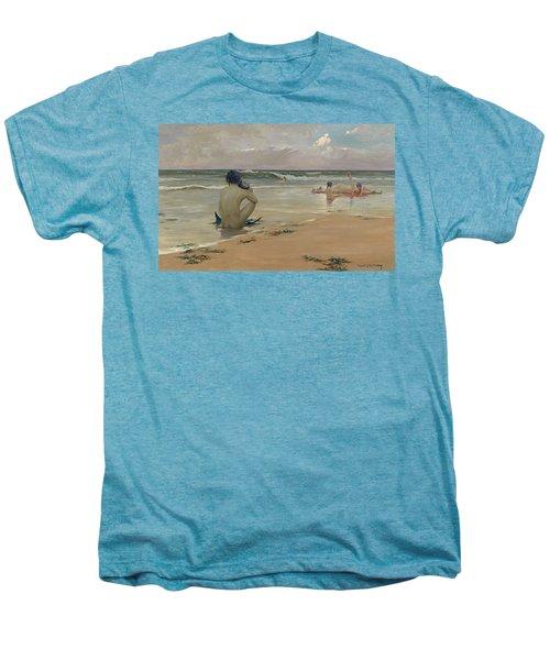 Sea Idyll Men's Premium T-Shirt