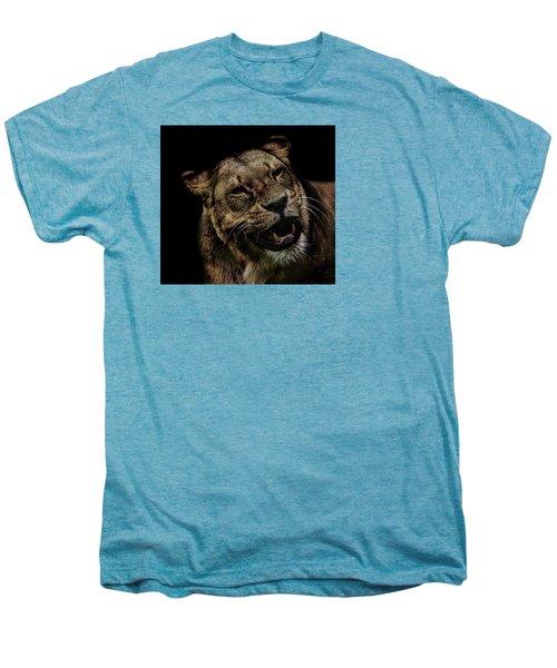 Smile Men's Premium T-Shirt by Martin Newman