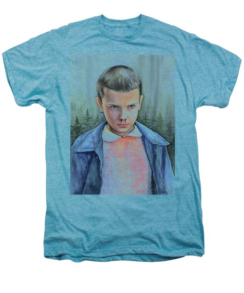 Stranger Things Eleven Portrait Men's Premium T-Shirt