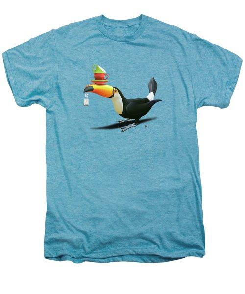 Tea For Tou Wordless Men's Premium T-Shirt