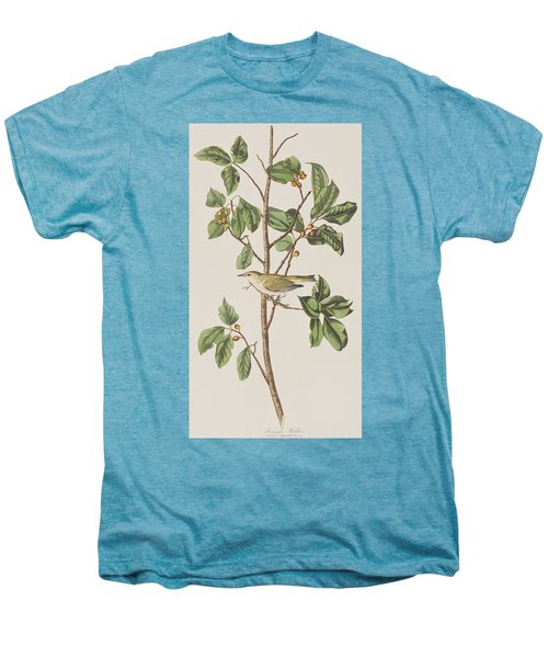 Tennessee Warbler Men's Premium T-Shirt by John James Audubon
