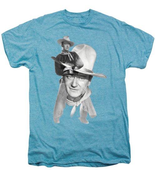 The Duke John Wayne Men's Premium T-Shirt by Diana Van