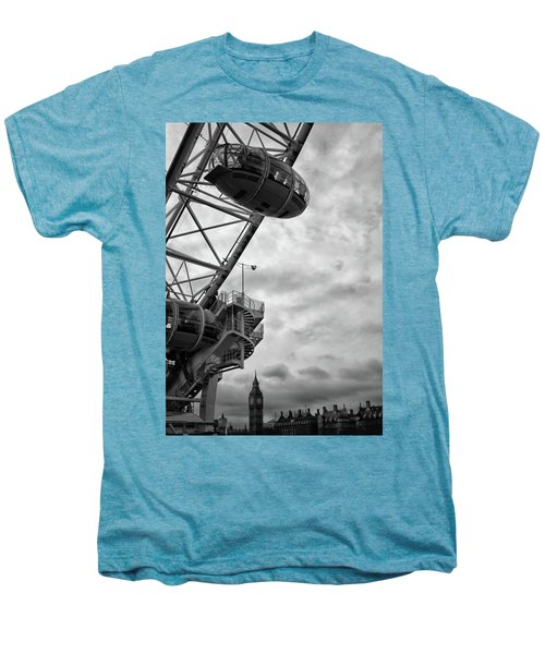 The London Eye Men's Premium T-Shirt by Martin Newman