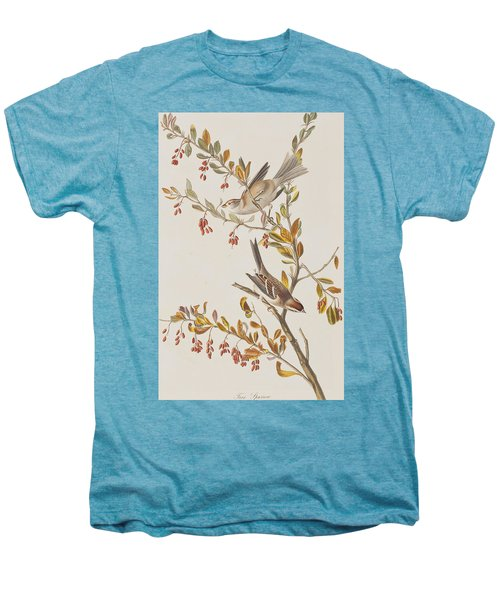 Tree Sparrow Men's Premium T-Shirt by John James Audubon