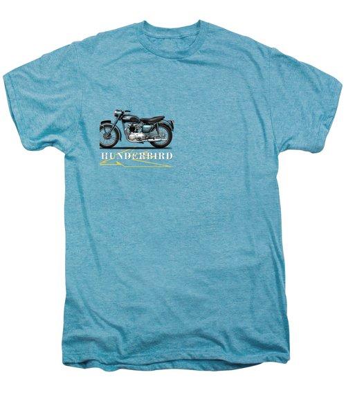 Triumph Thunderbird 1955 Men's Premium T-Shirt by Mark Rogan