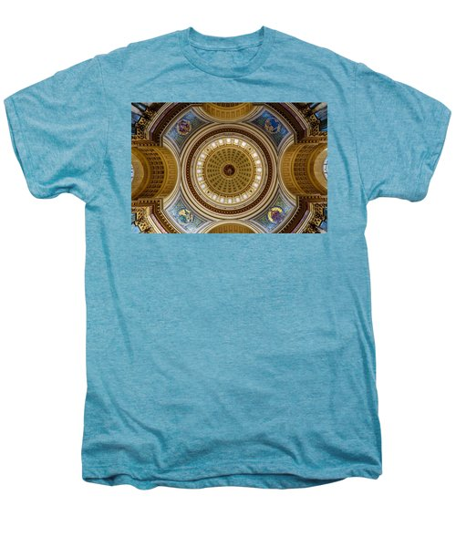 Under The Dome Men's Premium T-Shirt by Randy Scherkenbach