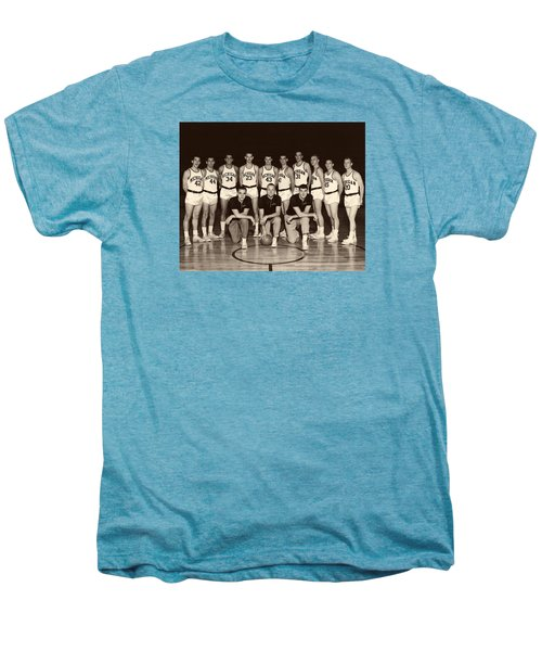 University Of Michigan Basketball Team 1960-61 Men's Premium T-Shirt by Mountain Dreams