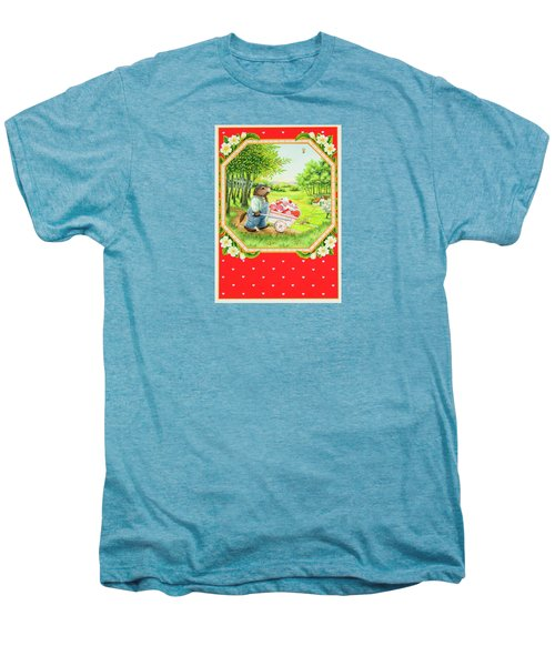 Valentine Delivery Men's Premium T-Shirt by Lynn Bywaters