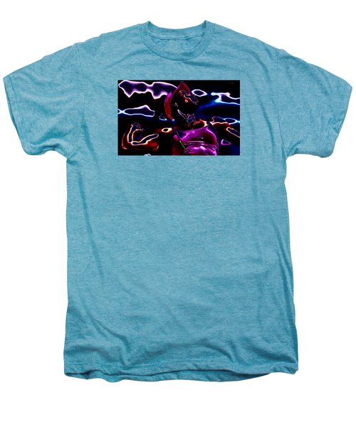 Venus Williams Match Point Men's Premium T-Shirt by Brian Reaves