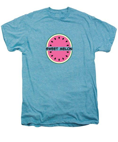 Watermelon Pattern Men's Premium T-Shirt
