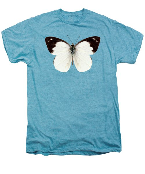 White Butterfly Species Apias Indra Indra Men's Premium T-Shirt