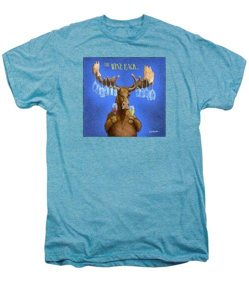 Wine Rack... Men's Premium T-Shirt
