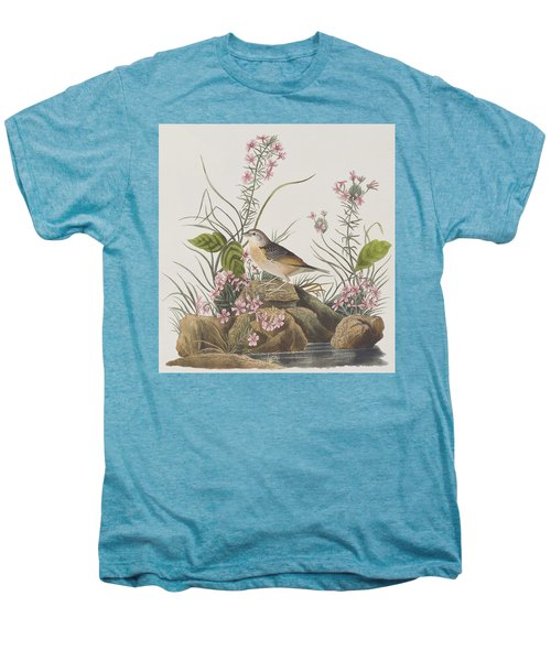 Yellow-winged Sparrow Men's Premium T-Shirt by John James Audubon
