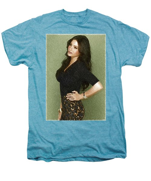 Celebrity Sofia Vergara  Men's Premium T-Shirt by Best Actors
