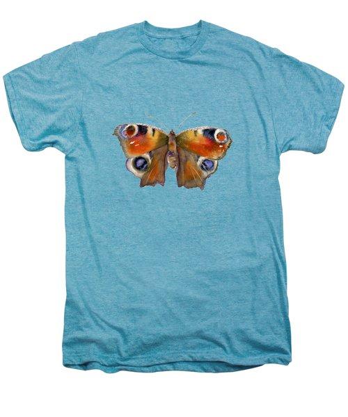 10 Peacock Butterfly Men's Premium T-Shirt