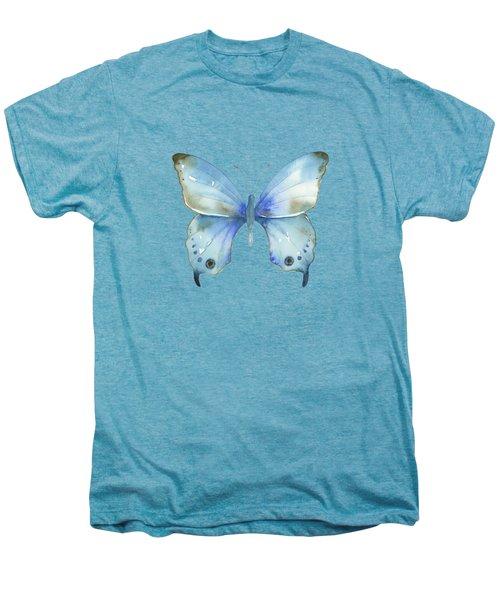 #109 Blue Diana Butterfly Men's Premium T-Shirt