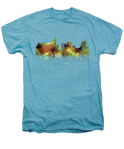 Miami Florida Skyline Men's Premium T-Shirt