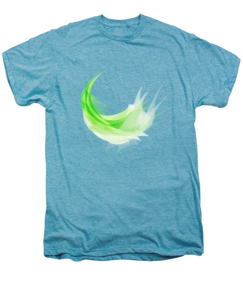 Abstract Feather Men's Premium T-Shirt