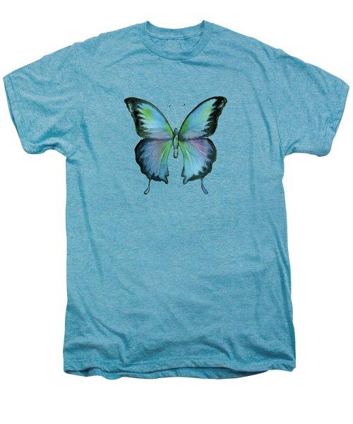 12 Blue Emperor Butterfly Men's Premium T-Shirt