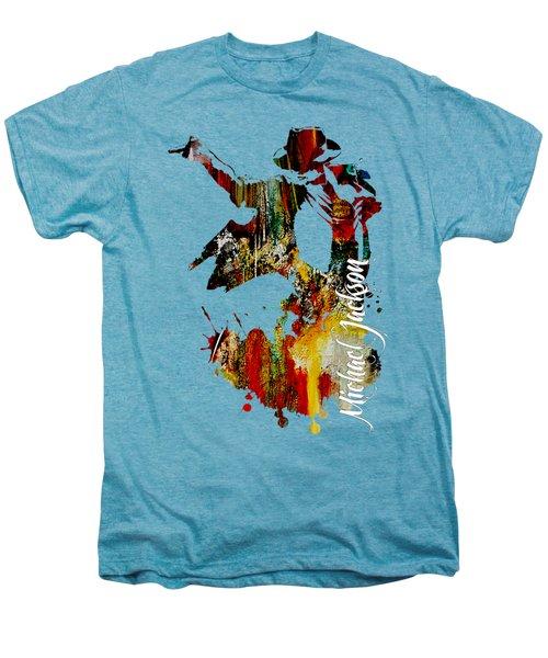 Michael Jackson Collection Men's Premium T-Shirt by Marvin Blaine