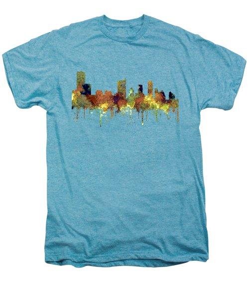 Austin Texas Skyline Men's Premium T-Shirt by Marlene Watson