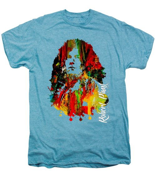 Robert Plant Collection Men's Premium T-Shirt by Marvin Blaine