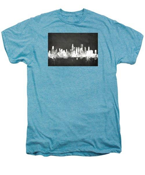 Chicago Illinois Skyline Men's Premium T-Shirt