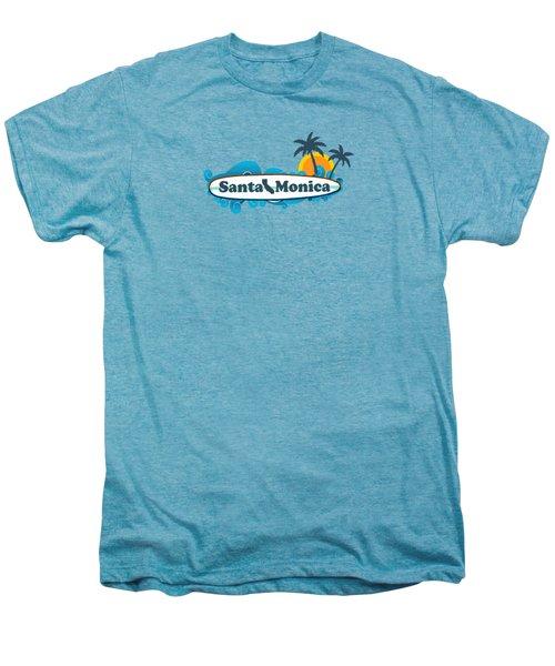 Santa Monica Men's Premium T-Shirt by American Roadside