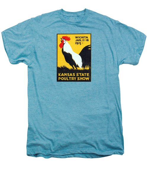 1915 Kansas Poultry Fair Men's Premium T-Shirt by Historic Image