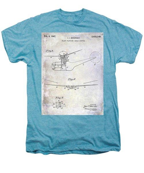 1947 Helicopter Patent Men's Premium T-Shirt