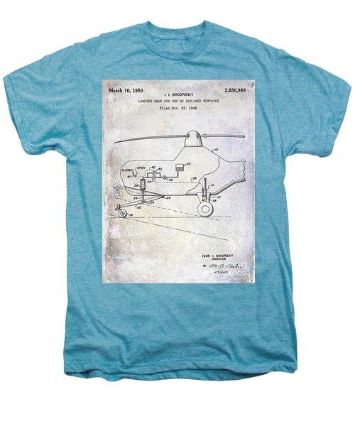 1953 Helicopter Patent Men's Premium T-Shirt