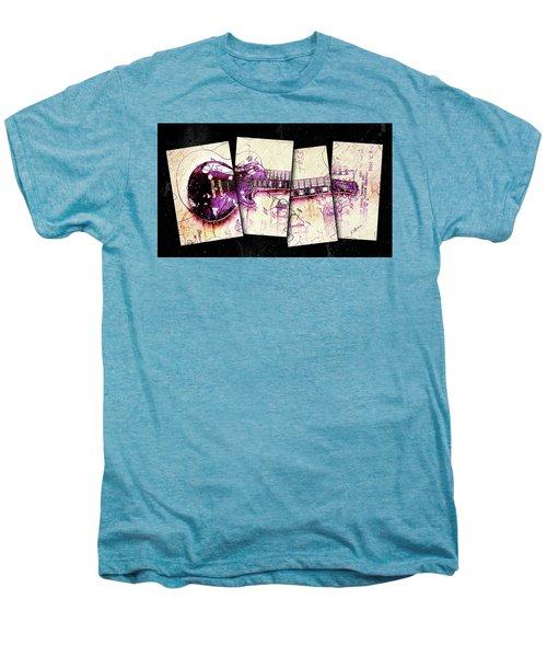1955 Les Paul Custom Black Beauty V3 Men's Premium T-Shirt