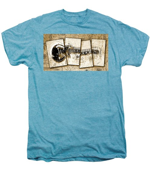 1955 Les Paul Custom Black Beauty V5 Men's Premium T-Shirt