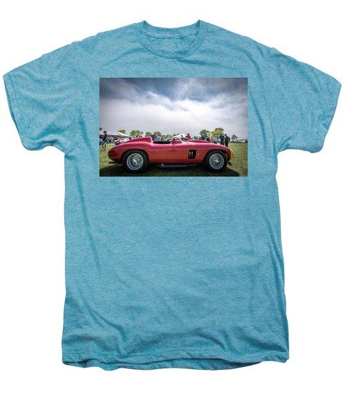Men's Premium T-Shirt featuring the photograph 1956 Ferrari 290mm by Randy Scherkenbach