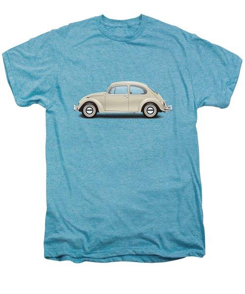1965 Volkswagen 1200 Deluxe Sedan - Panama Beige Men's Premium T-Shirt by Ed Jackson